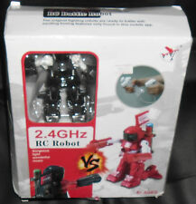 1 BATTLE FIGHTING ROBOT WARRIOR COMBATTIMENTO FIGHT BOXING-2.4 GHZ RC real steel