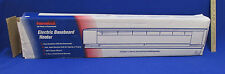 Electric Baseboard Heater Floor Mount White 30 IN 500 Watt 240 Volts Fahrenheat