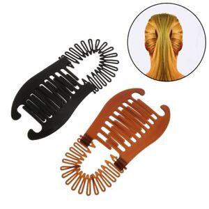 Haarspange Banane Fisch Clips Bananenspange Haarkamm Haarkrebs L14 2 Farben
