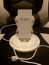 10W Fast Qi Wireless Charger Angel Wings Night Light Mobile Phone