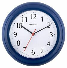 Acctim Blue Wycombe Bedroom Kitchen Office Wall Clock
