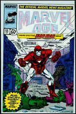 Marvel Comics MARVEL AGE #55 Iron Man VFN 8.0