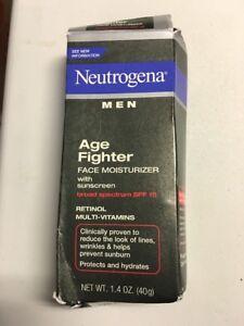 Neutrogena Men Age Fighter Face Moisturizer Broad Spectrum SPF 15, 1.4 oz