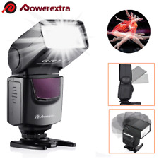 DF-400 Flash Gun Speedlite Speedlight for Nikon&Canon Olympus Fujifilm DSLR Cam