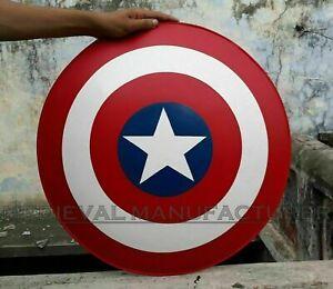 Medieval 300 Spartan Shield Round Shield Captain America 18G Battle Armor Shield