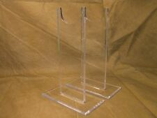 "12  Acrylic 7""  Military Antique Rifle Carbine Shotgun Firearms Display Stands"