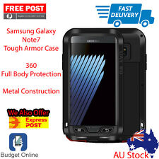 Tough Armor 360 Drop Proof Metal Case For Samsung Galaxy Note 7 Ship From Melb