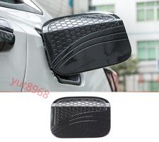Carbon Fiber fuel tank cover oil gas cap cover trim For Honda Civic 10th 16-17