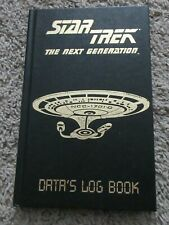 STAR TREK THE NEXT GENERATION DATA'S LOG BOOK NEW RARE