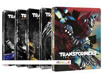 TRANSFORMERS - COLLEZIONE 5 FILM STEELBOOK (10 BLU-RAY) EDIZIONE LIMITATA