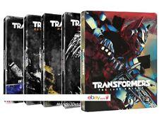 TRANSFORMERS - COLLEZIONE COMPLETA STEELBOOK (10 BLU-RAY) EDIZIONE LIMITATA