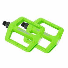 Author Fahrradpedale APD-F13 Nylon BMX MTB Plattformpedale grün Reflektor