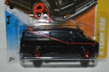 Hot Wheels 1:64  A TEAM VAN Black