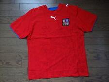 Czech Republic 100% Original Soccer Jersey L 2006/07 Home NWOT NEW