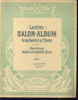 Leichtes SALON-ALBUM für das Pianoforte ~ Band 1