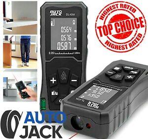 Handheld Digital Laser Point Distance Meter Tape Range Finder Measure 40m
