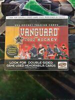 NHL 2002 Pacific Vanguard Factory Sealed Retail Box | 1 Box | Vintage Hockey