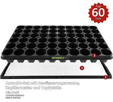 Anzucht - SET mit Bewässerungs-Wanne + Kapillar-Matte + Anzucht Topf Platte NEU!