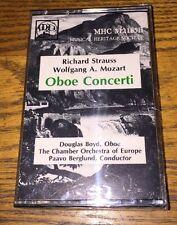 Richard Strauss Wolfgang A. Mozart Oboe Concerti Cassette New!