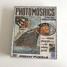 Photomosaics 1000 Piece Jigsaw Puzzle by Robert Silvers - Titanic