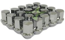20 OEM Factory Style Chrome Lug Nuts 14x1.5 For Ford Mustang, Chevy, Dodge Cars