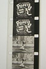 POPEYE GANG WAR 1935 16MM FILM MOVIE ROLLED NO REEL D128