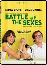 Battle Of The Sexes (DVD, 2017) Free Shipping