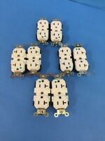 Electrical Receptacle Connector 5362HGW Leviton Lot of 8 20A 125V