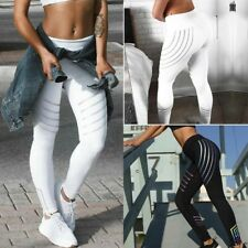 Damen Fitnesshose Yoga Sport Leggings Yoga Gym Fitness Leggins Jogginghose Gym H