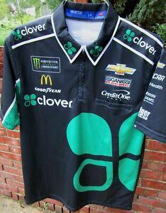 Kyle Larson #42 CLOVER/Chip Ganassi Racing race day pit crew shirt - Large