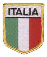 Italy Patch - Italia (Iron on)