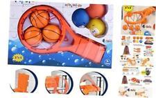Bath Toy Basketball Hoop & Balls PlaySet(3 in 1 Design) With 6 Balls Bath