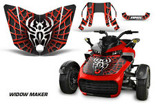 AMR Racing CanAm F3-S Spyder Hood Graphic Kit Wrap Roadster Sticker Decal WDOW R