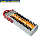 11.1V  3S 6500mAh LiPo Battery 60C Deans for RC Helicopter Airplane Car Boat