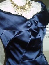 NAVY BLUE COAST DRESS UK 10 NEW