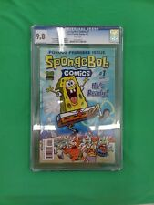 Spongebob Squarepants The Comic #1 CGC 9.8 Graded United Plankton Pictures Rare
