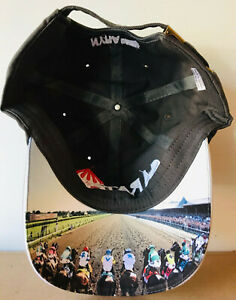 """Saratoga Race Course """"Starting Gate"""" Cap / Hat with Adjustable Buckle - NEW"""
