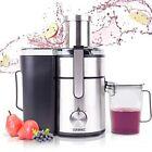 Duronic RM3 8SB Entsafter JE10 Früchte und Gemüse 1000W stärke Saftpresse ✅