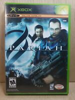 Pariah (Microsoft Xbox, 2005) Like New Condition Complete Ships Free in Canada