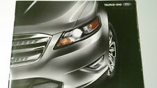 2010 Ford Taurus sho specs brochure new 30 pages