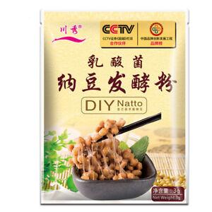3G / Tasche Bacillusnatto für Natto Enzym sporen Starters Fermentation Powder
