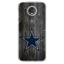 For Moto E5 Play/Cruise/Plus/Supra Case Cover Skin Dallas Cowboys Wood