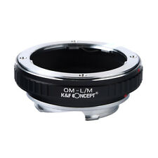 OM-L/M Adapter Ring for Olympus OM Mount lens to Leica M LM Voigtlander Cameras