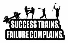 Decal Sticker gym motivational wall sports quote boxe hockey baseball fitness