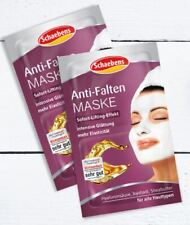 Anti-Wrinkle Face Mask by Schaebens with Jojoba Oil, 4 x 5ml Home Spa Treatments