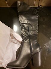 446f5411937 Journee Collection Spritz Over The Knee Boot ‑ Women s ‑ Black Size  9 NIB