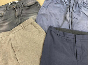 Wholesale Branded Clothing Job Lot Men's Used Grade A Mixed Trousers Clearance