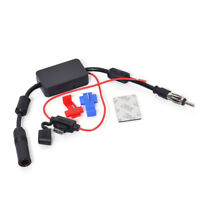Car Truck Stereo Antenna Aerial Radio FM AM inline Signal Amp Amplifier Booster