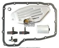 45RFE 545RFE 68RFE Transmission Sensors SET 4X4 4WD Filter KIT Pan Gasket 99-UP