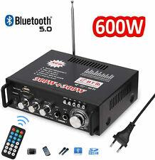 600W HiFi Stereo Verstärker Bluetooth Digital Power Amplifier FM Verstärker